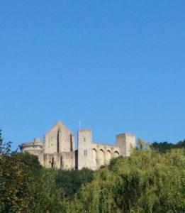 Le château de la Madeleine à Chevreuse