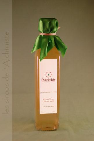 Sirop artisanal Fenouil au Citron Vert de l'Alchimiste