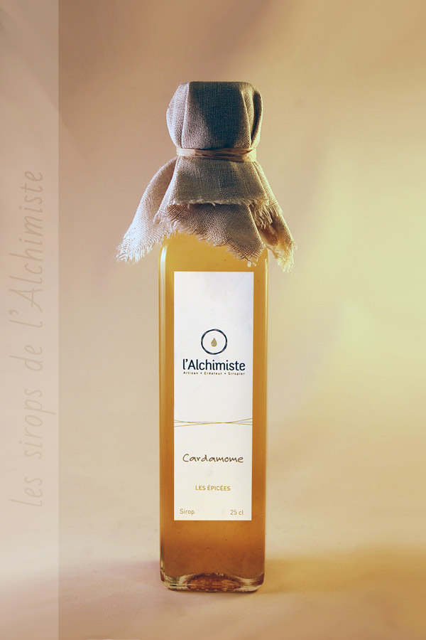 Sirop artisanal Cardamome