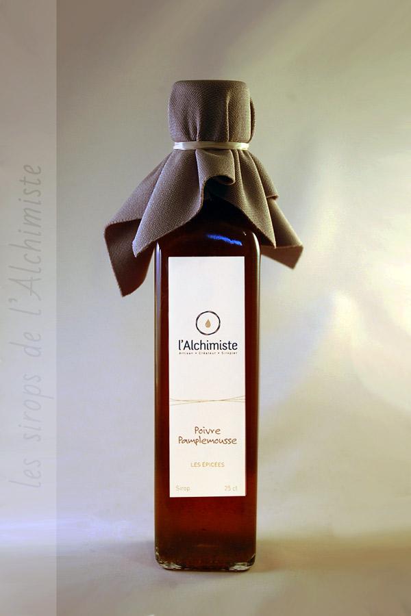Sirop artisanal Poivre Pamplemousse