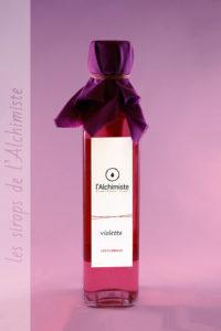 Sirop artisanal Violette